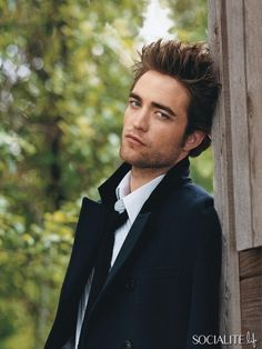 I consider him a role model, mostly because of how much he hates the Twilight franchise and the fame that came with it.