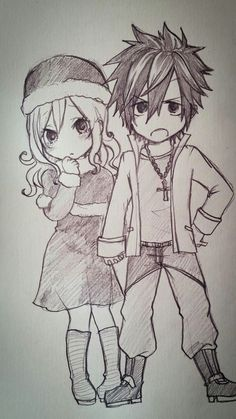Gruvia sketch fairy tail g Art Fairy Tail, Fairy Tail Drawing, Image Fairy Tail, Fairy Tail Juvia, Fairy Tail Gray, Fairy Tail Manga, Fairy Tail Ships, Anime Fairy, Gray Fullbuster