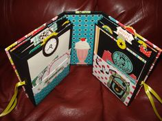 Homemade mini albums 2014 | Happy Days Mini Album Tutorial, Part One