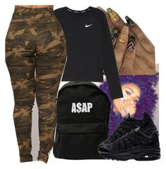 """Untitled #514"" by lowkeysavage11 on Polyvore featuring ASAP and NIKE"