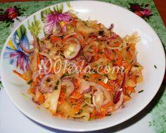 Постный рецепт салата из грибов