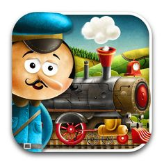 If you want to instill in your child a love for reading, Locomotive is an app that should do the job. The way it utilized modern technology to bring the poem to life and in a way that appeals to children is nothing short of amazing. Best Poems, App Store, Locomotive, Ipod Touch, Itunes, Your Child, Childrens Books, Ipad, Rabbit