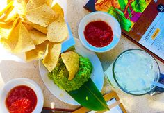 Homemade Guac (yum!) from Mi Cocina in the Highland Park Village featured on #TheTIG Insider's Guide to #Dallas #nomnom