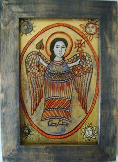 Icoane romanesti pictate pe sticla in tehnica traditionala Religious Images, Religious Art, Meditation Prayer, Spiritus, Mexican Art, Sacred Art, Cristiano, Christian Art, Antique Art