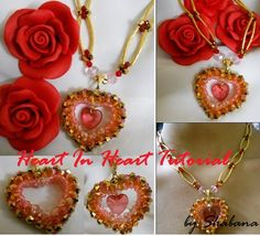 Heart In Heart Necklace   JewelryLessons.com