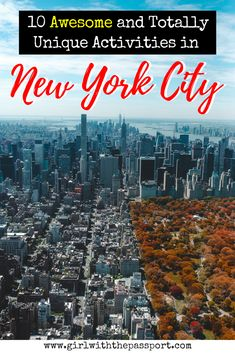 Planning a New York City Vacation or Have a New York City apartment and looking for unique things to do in New York City? Then this post is for you. Filled with New York City photography, this post details all the hidden gems that New York City has to offer locals and tourists alike (New York City things to do in).