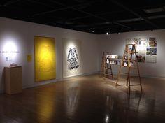 Une rencontre internationale (Techniques mixtes) Du 23 au 26 avril 2015 - Résidence d'artiste avec Josette Villeneuve  et la résidence Chartwell Jardins Laviolette