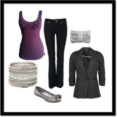 Cute dressy outfit :)
