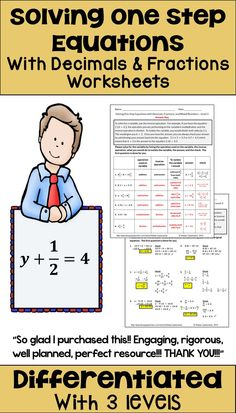 170 One Step Equations Inequalities Ideas One Step Equations Equations Middle School Math