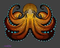 Coconut Octopus tee shirt design by Reptangle on DeviantArt