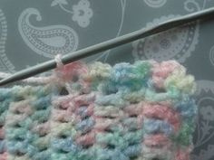 Easy Baby Blanket [Free Pattern]