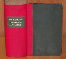 MRS BEETON Book of Household Management 1888 11 Coloured Plates Cookery Maids