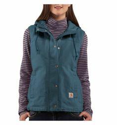 Carhartt - Product - Women's Sandstone Berkley Vest II