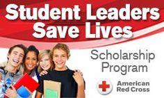 #highschool #collegebound #students & Undergrads Community College/University. The Red Cross Leaders Save Lives Scholarship Program This is a volunteer opportunity, a life saving opportunity and a scholarship opportunity. They're giving away $14,000 in scholarships! See Details ~ Deadline: August 31, 2015