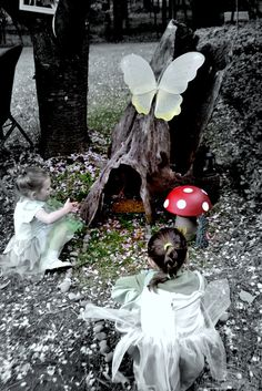 Woodland Fairy on a budget!  Will someone throw me a woodland fairy birthday party pretty please!!?