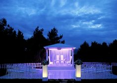 Gazebo is ready for the ceremony. Tea Box, Marina Bay Sands, Istanbul, Gazebo, Outdoor Structures, Building, Travel, Turkey, Weddings