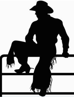 svg file   cowboy