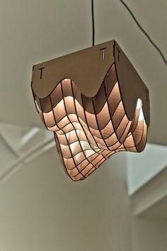 11 Awesome Lamp Diy Designs With Industrial Charm. If you are looking for Lamp Diy Designs With Industrial Charm, You come to the right place. Diy Design, Rustic Design, Interior Design, Karton Design, Laser Cut Lamps, Cardboard Design, Paper Design, Suspension Design, Cardboard Furniture
