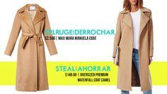 Splurge+vs+StealSplurge: Manuela coat by Max Mara   Steal: Khloe Oversized Premium Waterfall Coat Camel at Missguided