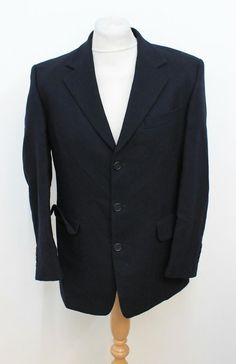 CERRUTI 1881Men/'s Two Button Gray Regular Fit 100/% Wool Suit US 50 EU 60