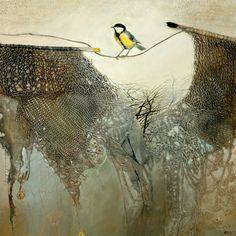 la nature en peinture, entre terre et toiles, souterrain et aérien, végétal et animal..