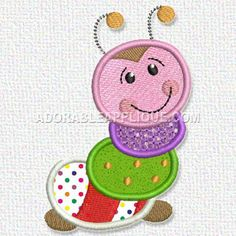Free Embroidery Design: Bug