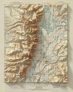 Historically rendered 3D maps by Scott Reinhard – Matt's Homepage