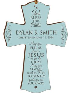 Christening gifts, Christening cross,Baptism gifts,personalized cross,baptism gift,Gift