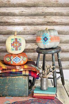 89 Creative Pumpkin Decorating Ideas - Easy Halloween Pumpkin Decorations and Crafts 2018 Easy Halloween, Halloween Pumpkins, Halloween Crafts, Halloween Decorations, Pumpkin Decorations, Festival Decorations, Thanksgiving Decorations, Fall Pumpkins, Fall Crafts