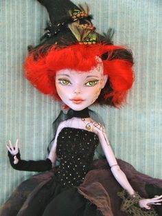 Monster High Witch by Marina's art dolls, via Flickr