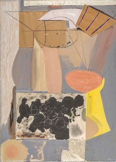 Robert Motherwell, 'The Displaced Table,' 1943, ICA Boston