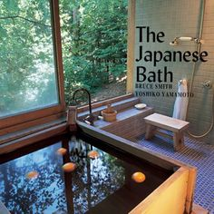 The Japanese Bath by Bruce Smith. My brother sent this book to me years ago while living there. I've been fascinated by the art of Japanese Bath ever since. Japanese Bath House, Japanese Style Bathroom, Japanese Bathtub, Japanese Soaking Tubs, Bruce Smith, My Building, Design Apartment, Japanese Interior, Japanese Home Decor
