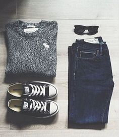 Easy & cute school outfit [x