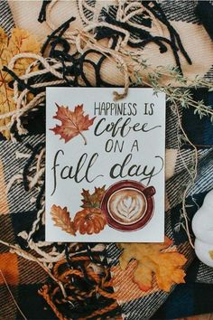 Autumn/ Herbst / Fall - New Deko Sites Autumn Cozy, Fall Winter, Autumn Coffee, Winter Season, Fall Inspiration, Happy Fall Y'all, Hello Autumn, Fall Harvest, Fall Halloween