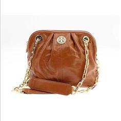 4574adc359 Tory Burch Crossbody/Handbag Tory Burch Bag, Tory Burch Gifts, Brown Leather  Crossbody