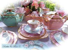 ` Tea Set, Tea Time, Tea Cups, Tableware, Dinnerware, Tablewares, Tea Sets, Dishes, Place Settings