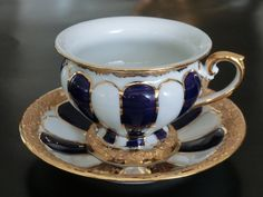 Meissen, Germany tea cup and saucer, Vintage Cups, Vintage Tea, Teapots And Cups, Teacups, Cuppa Tea, Fun Cup, China Tea Cups, My Cup Of Tea, Tea Cup Saucer