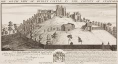 'South View of Dudley Castle' by Samuel and Nathaniel Buck, 1731.