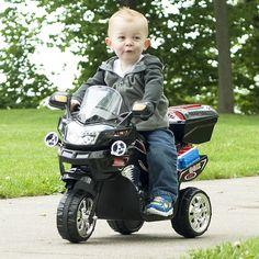 Kids Electronic Ride On Toy Bike Battery Powered Wheel Motorcycle Motorbike Gift #Unbranded