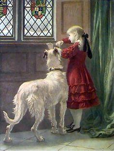 Briton Riviere (1840 – 1920, English)