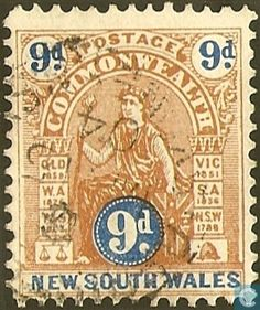 1903  New South Wales - Allegory