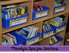 Setting Up the Classroom: Part Four (Getting Organized!)
