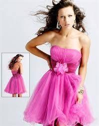 Resultado de imagen para vestidos de quinceañera sencillos y cortos