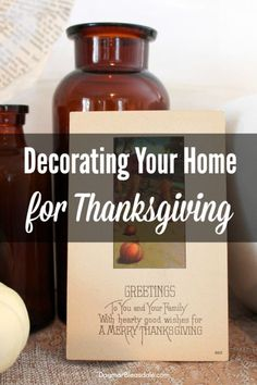 super easy! Great ideas for decorating your home for Thanksgiving. #Thanksgiving #eBayguides #decorating #tablescape #DIY