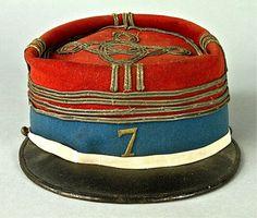 WWI FRENCH 7th HUSSARS COMMANDER'S KEPI