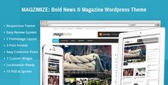 Review Magzimize: Bold News & Magazine Wordpress ThemeYes I can say you are on right site we just collected best shopping store that have