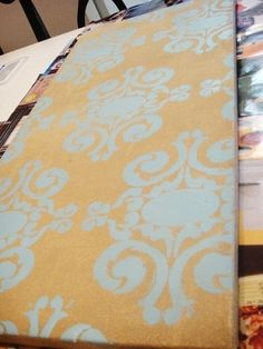 another easy DIY canvas art project by marieware