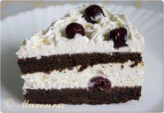 Черемуховый торт с вишней