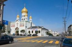 Holy Virgin Cathedral in the Richmond District. Photo: Elena Bobrova