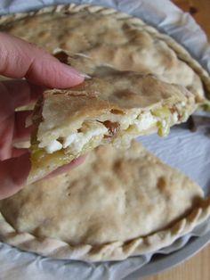 stella di sale | Torta salata cagliata porri e uvetta